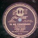 78--ALFREDO MENDEZ--TU NO COMPRENDES--SMC Pro-Arte 1245