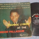 FRANKIE LYMON AT THE LONDON PALLADIUM--1958 LP-Roulette