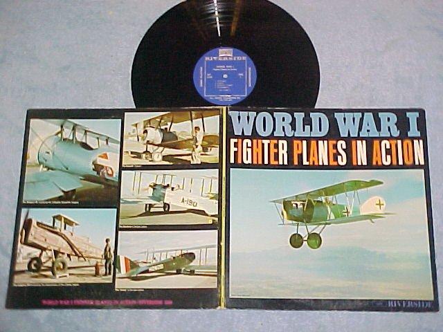 WORLD WAR I FIGHTER PLANES IN ACTION--NM/VG++ 1961 LP