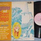 HAL LONE PINE & JEANNIE WARD-HYMNS-Early 60's Canada LP