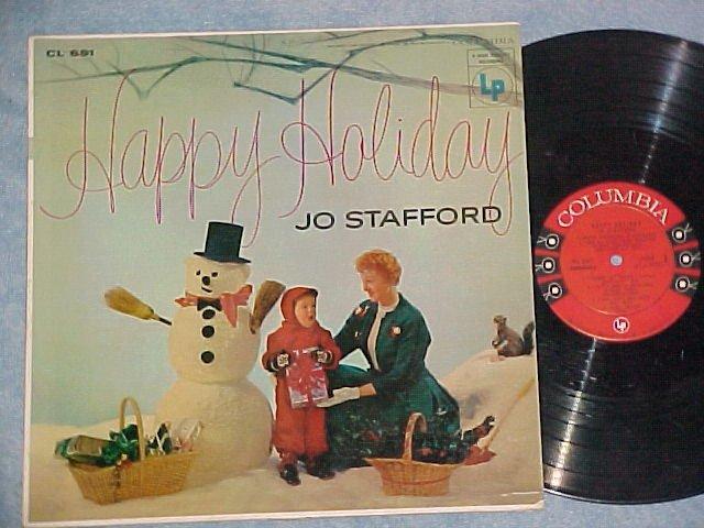 JO STAFFORD--HAPPY HOLIDAY--VG+/VG++ 1955 LP