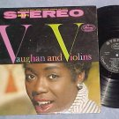 SARAH VAUGHAN--VAUGHAN AND VIOLINS--VG+ Stereo 1959 LP