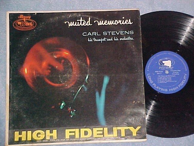 CARL STEVENS--MUTED MEMORIES--1963 LP on Mercury Wing