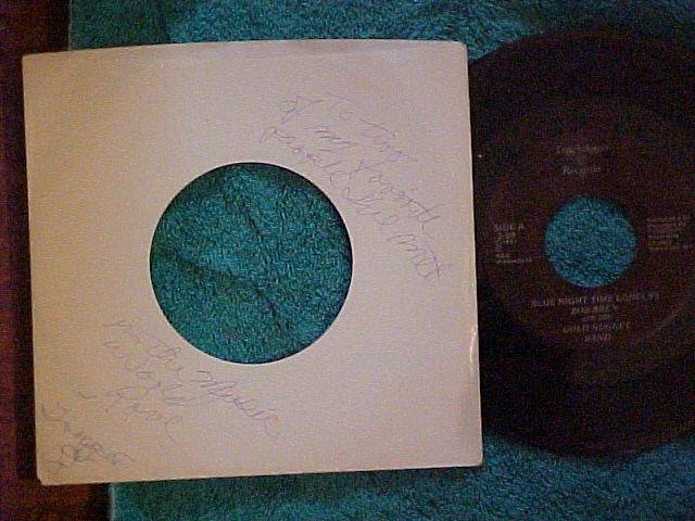 45--BOB BREN/GOLD NUGGET BAND-Autograph--Glens Falls,NY