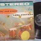 CARL STEVENS ORCH.-SKIN AND BONES-NM/VG+ Stereo 1958 LP