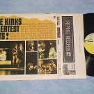 THE KINKS GREATEST HITS!-VG++/VG+ Mono LP-Tri Color lbl