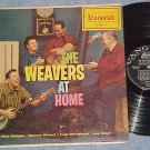 THE WEAVERS AT HOME-NM/VG+ 1959 Vanguard LP-RARE STEREO