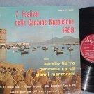 7th FESTIVAL DELLA CANZONE NAPOLETANA 1959-VG+ Italy LP