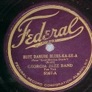 78-GEORGIA JAZZ BAND-BLUE DANUBE BLUES-KA-LU-A--Federal