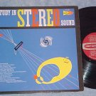 A STUDY IN STEREO SOUND-NM/VG++ Demo LP on Counterpoint