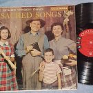 THE CHUCK WAGON GANG--SACRED SONGS--VG++/VG+ 1957 LP