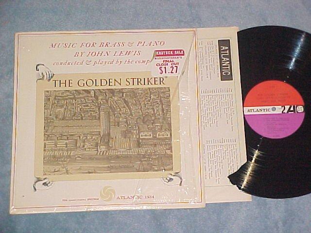 JOHN LEWIS--THE GOLDEN STRIKER--VG++/NM shrink 1960 LP