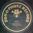1-sided 78--Zonophone 919--PEERLESS QUARTETTE--c. 1907