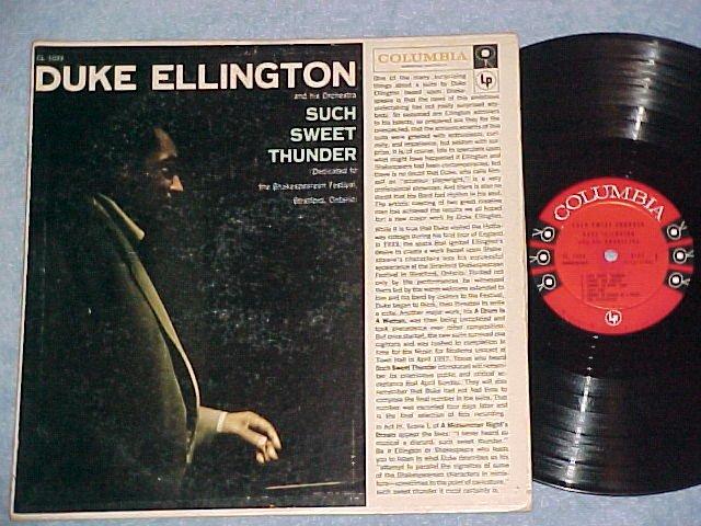 DUKE ELLINGTON ORCHESTRA-SUCH SWEET THUNDER-VG+ 1957 LP