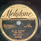 78--RED FOLEY--OLD SHEP--1936--Melotone 6-03-53