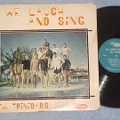THE TRINIDADS-WE LAUGH AND SING-60's LP-Trinity College