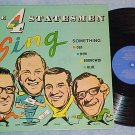 THE 4 STATESMEN-New England Barbershop Quartet-LP (four