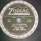 78-NORMAN BROOKS--HELLO SUNSHINE--1953--Zodiac 101--VG+