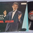 FRANKIE AVALON--...AND NOW ABOUT MR. AVALON--NM 1961 LP
