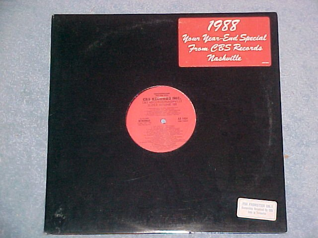 NASHVILLE SUPER HITLINE '88--NM 1988 1-sided Promo LP