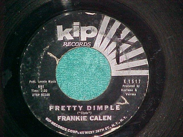 45--FRANKIE CALEN--PRETTY DIMPLE--c. 1960--Kip 1517--VG