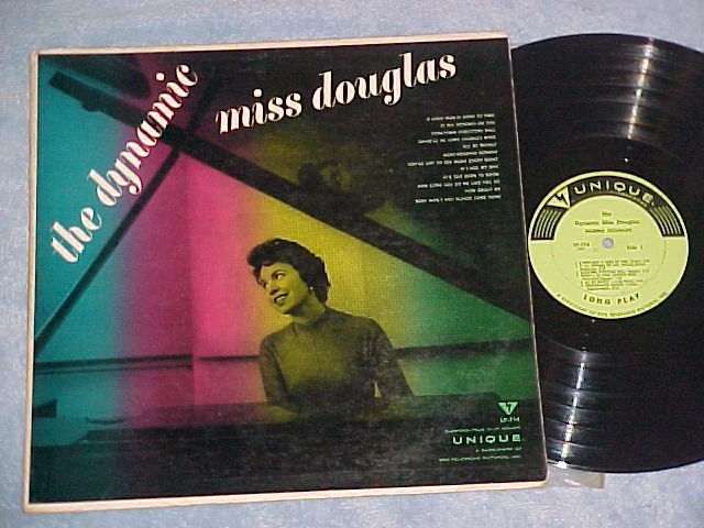 NORMA DOUGLAS--THE DYNAMIC MISS DOUGLAS--NM/VG+ 1956 LP