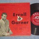 """ERROLL GARNER-PIANO SOLOS-Vol 3-Savoy 15002-10"""" 1950 LP"""