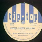 78-THREE BEAUS AND A PEEP-SWEET WILLIAM--Tip-Top--NM (3