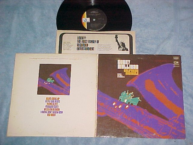 GERRY MULLIGAN-CALIFORNIA CONCERTS-VG+ '68 LP-'54 Rcdgs