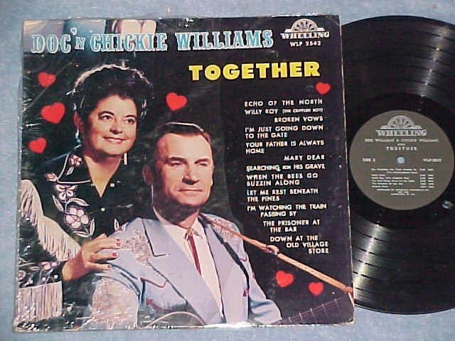 DOC 'N CHICKIE WILLIAMS TOGETHER--LP--Wheeling WLP-2542