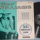 DOC WILLIAMS--25th ANNIVERSARY ALBUM--Wheeling WLP-5001