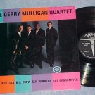 THE GERRY  MULLIGAN QUARTET--s/t 1962 LP--Verve V-8466