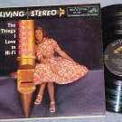 THREE SUNS-THE THINGS I LOVE IN HI FI-VG+ Stereo 1958LP