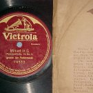 "1-sided 12"" 78- PADEREWSKI--MINUET IN G--Victrola 74533"