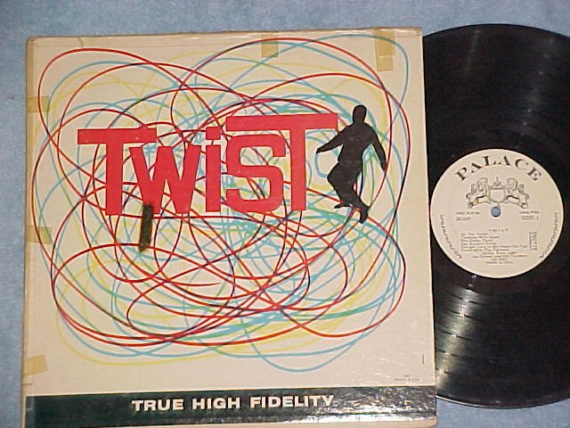 BOBBY DUNN/LES COOPER--TWIST--Early '60's LP on Palace