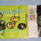 PAUL ANKA-15 SONGS I WISH I'D WRITTEN-VG++ Stereo'63 LP
