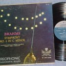 BRAHMS SYMPHONY No 1-NM/VG+ Late50s LP-Hallmark HLG-507