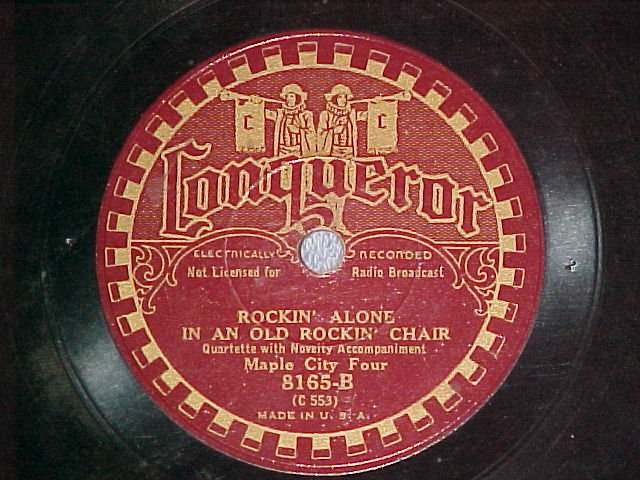 78-MAPLE CITY FOUR--TELL MOTHER I'M IN HEAVEN-Conqueror