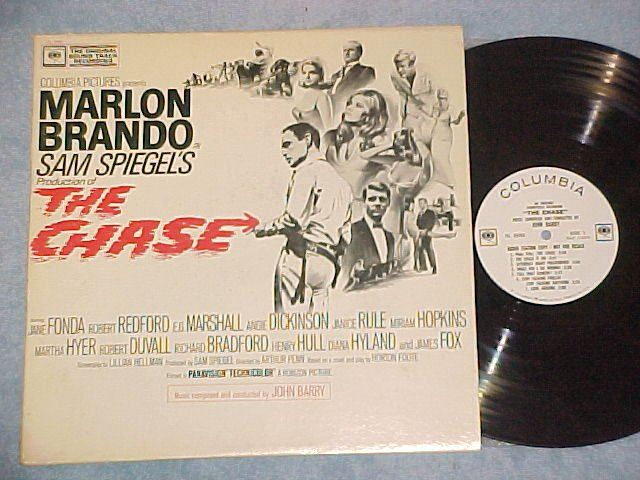 THE CHASE--NM/VG++ 1966 WL Promo Sdk LP--Marlon Brando