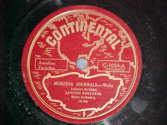 78-LEVITCH BROTHERS--MORNING JOURNALS--Continental--40s