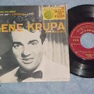 EP w/PS-GENE KRUPA & HIS ORCHESTRA--Columbia B-2543--NM