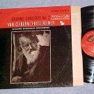 Shaded Dog LP--LSC-2581--VAN CLIBURN--BRAHMS--1962 LP