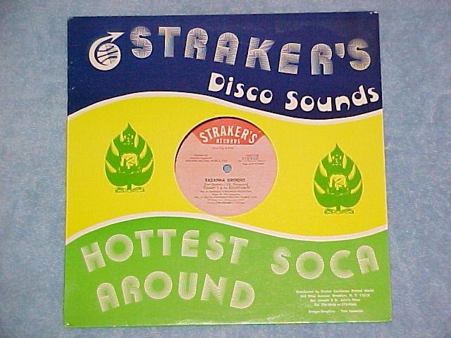 "TOMMY T.-TABANKA-12"" Single-1985-Straker's Records 2772"