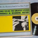 GEORGE FIELDS--GREATEST HARMONICA--VG++ 1961 Carlton LP