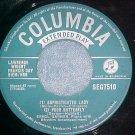 UK EP--ERROLL GARNER--1954--Columbia SEG-7510--VG+-