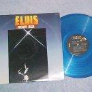 ELVIS PRESLEY--MOODY BLUE--VG+ 1977 LP--Blue Vinyl