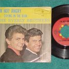 45 w/PS--THE EVERLY BROTHERS--CRYING IN THE RAIN--1961