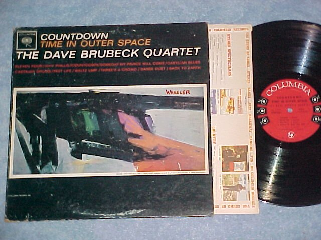 DAVE BRUBECK QUARTET--COUNTDOWN TIME IN OUTER SPACE--LP