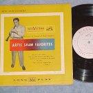 """ARTIE SHAW FAVORITES--10"""" 1952 LP--RCA Victor LPT-28"""