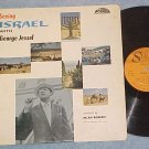 SEEING ISRAEL WITH GEORGE JESSEL- VG+ 1961 LP on Strand
